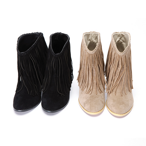 Save up to 70% on fringe boots from brands you'll love when you shop zulily. Browse all styles of fringe boots from booties to sandals in suede and leather.
