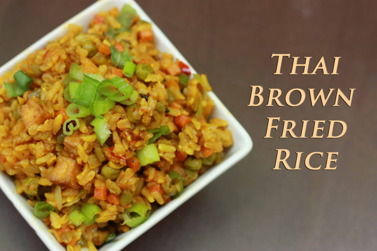 Sugar & Spice: Thai Brown Fried Rice