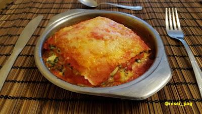 Ricota eta ziazerba lasagna