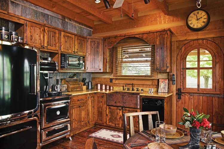 Kitchen design ideas western afreakatheart Western kitchen cabinets