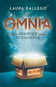 ¡Portada de ''Omnia. Todo lo que puedas soñar'', de Laura Gallego!