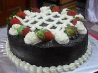 cake coklat lembut