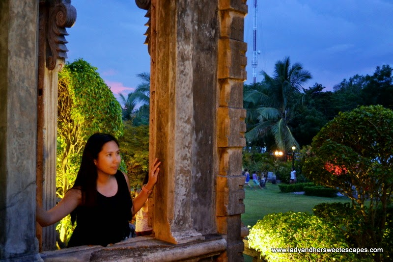 Lady at The Ruins in Talisay