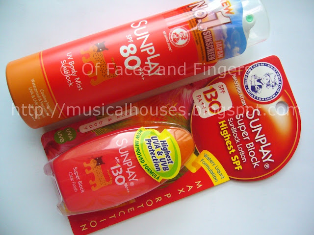 Sunplay Sun Block SPF 130 UV Body Mist 80