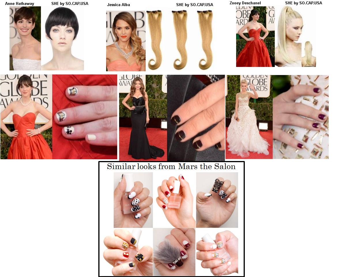 The arriviste golden globe 2013 beauty trends that will for Arriviste definition