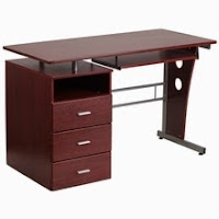 Mahogany Home Office Desk