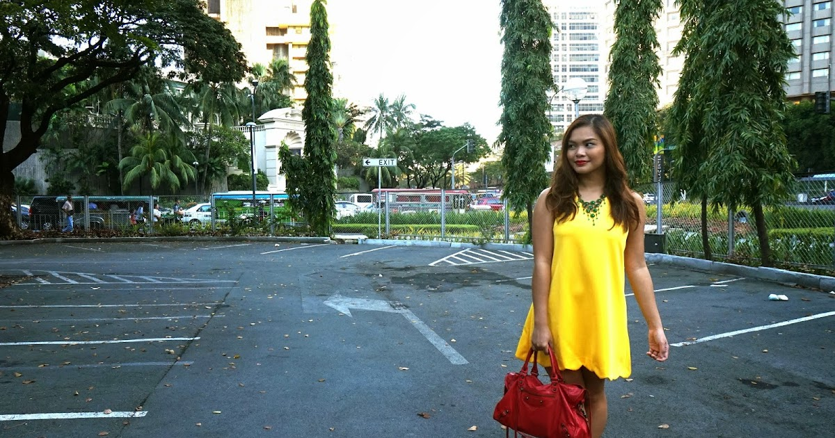 Ootd hello yellow the beauty junkee for Apartment clothing