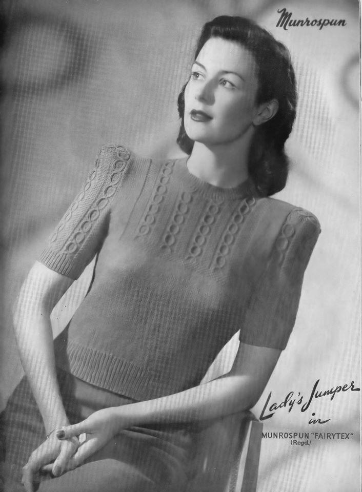Sexy Vintage knitting pattern books
