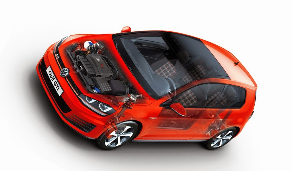 2015 Volkswagen VW Golf GTI VII pictures