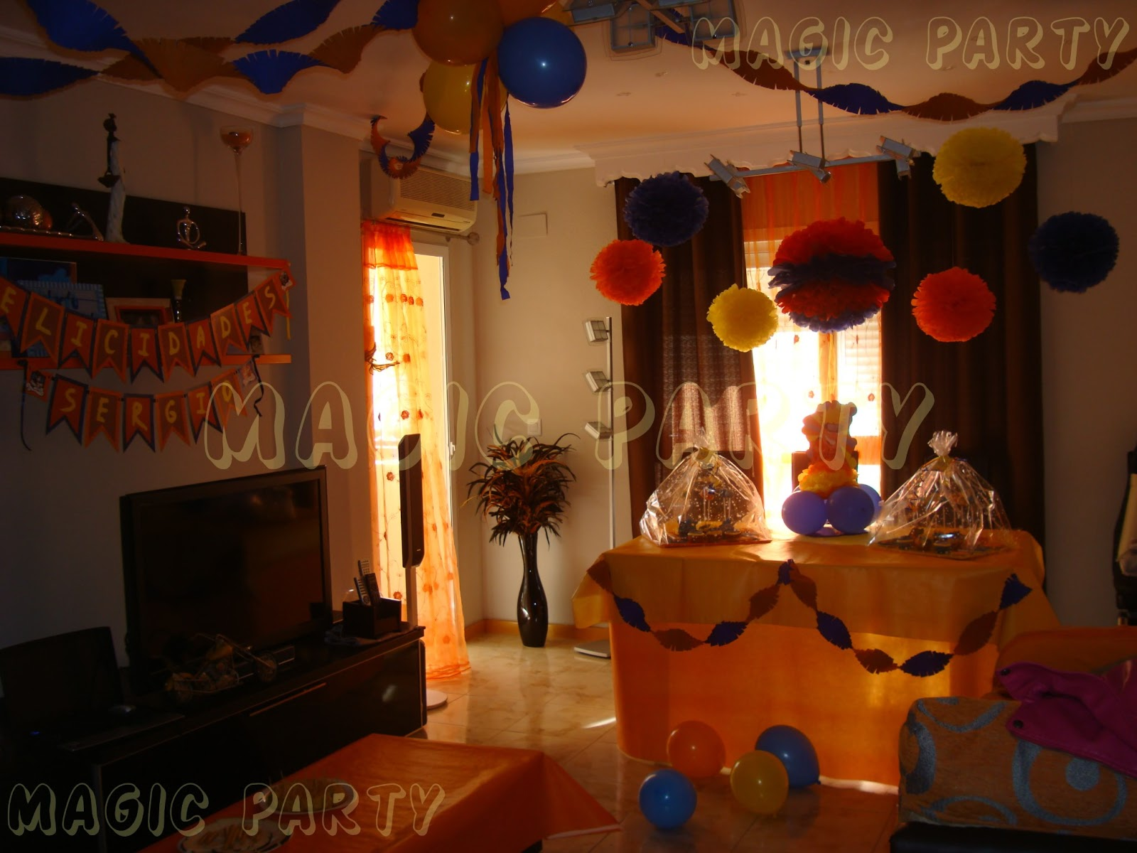 Magic party cumplea os de naruto - Decoracion fiesta sorpresa ...