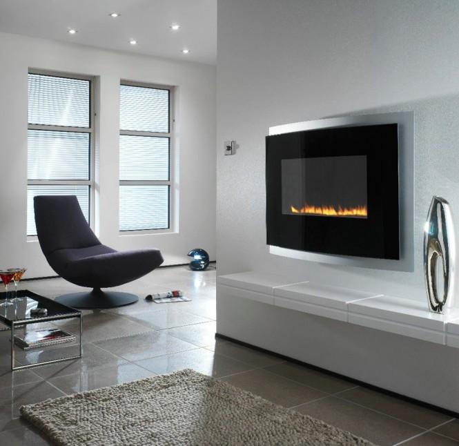 Diseño de Interiores & Arquitectura: Fabulosas Chimeneas Minimalistas
