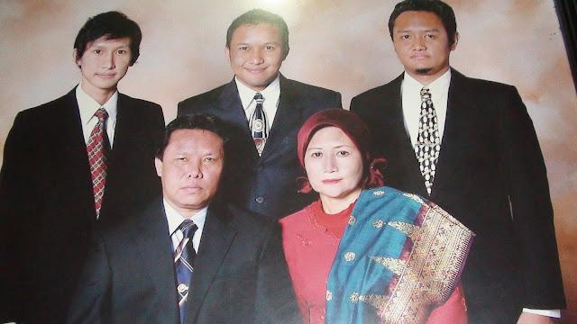Keluarga  Bantah Tidak mendukung Herman, Ini Kata Istri dan Putra HM