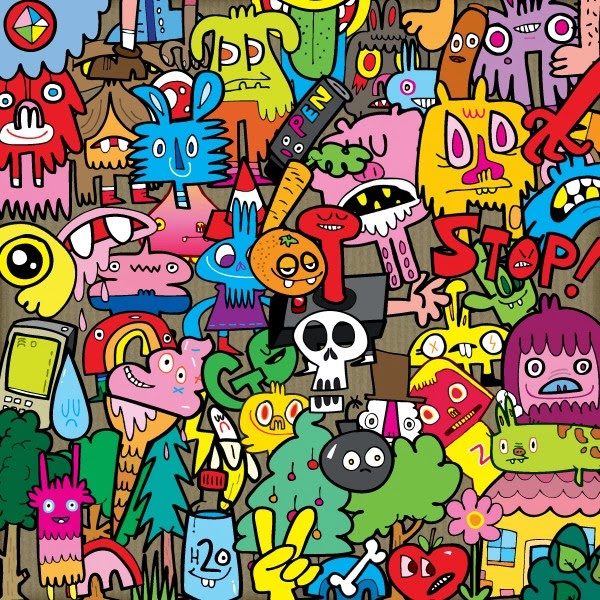 Graffiti Wall graffiti characters stickers