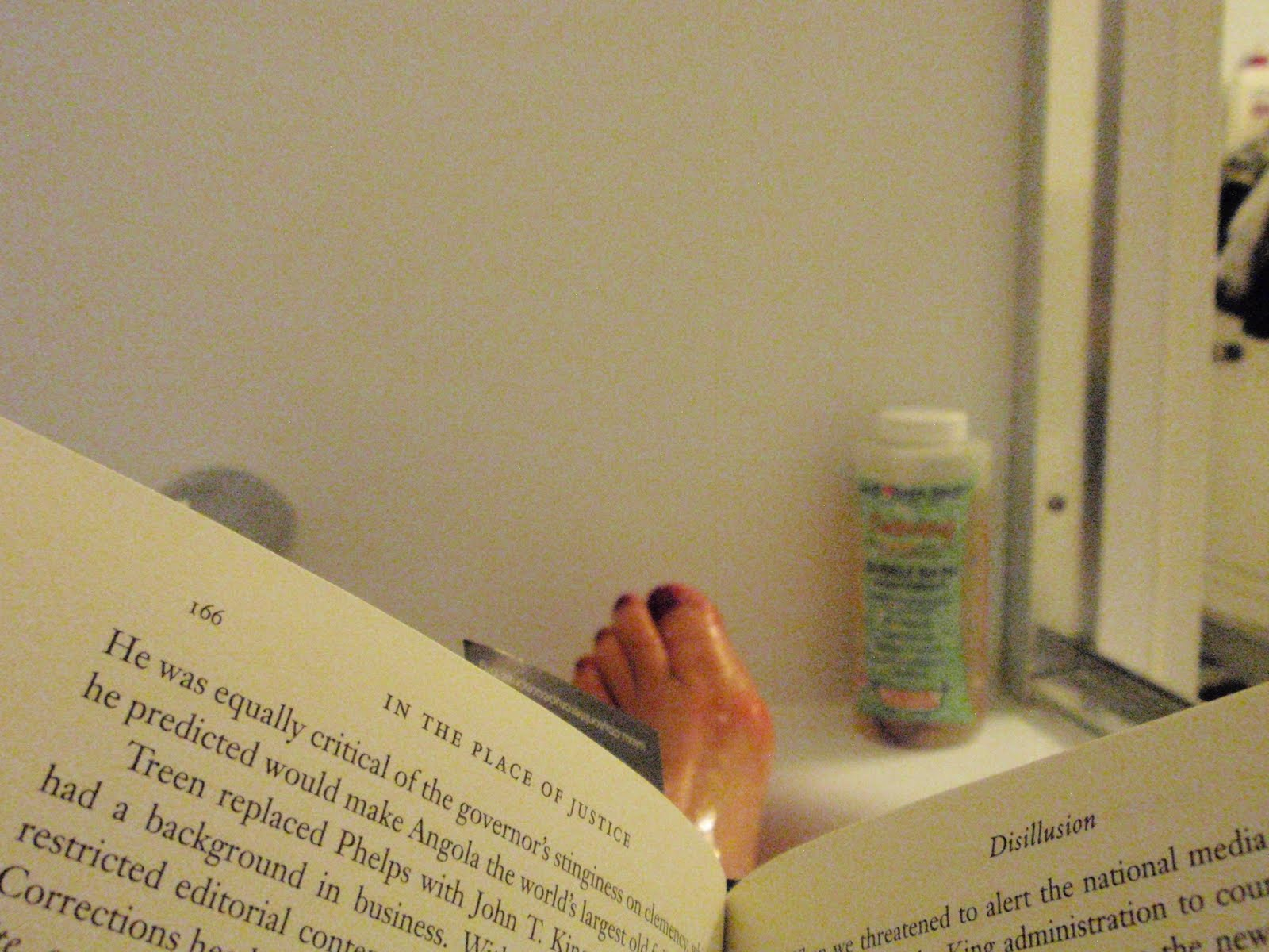 Katrina Kittle\'s Blog: #151: Reading in the Bathtub