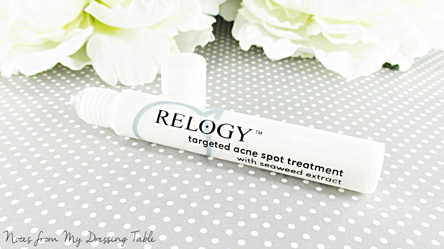 Relogy Skin Care Acne Spot Serum notesfrommydressingtable.com