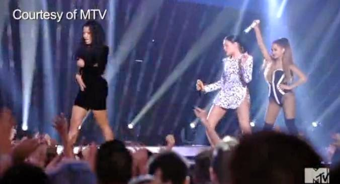 2014 MTV Video Music Awards, VMAs, Ariana Grande, Nicki Minaj, Jessie J,