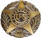 US veteran flag holder logo