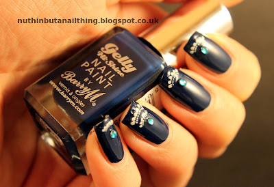 Barry M Blue Plum