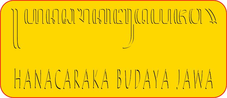 HANACARAKA BUDAYA JAWA