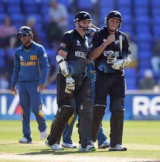 New Zealand beat Sri Lanka in Champions Trophy 2013