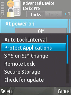 Advance Device Lock Nokia S60v3