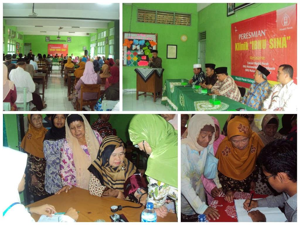 Klinik Kesehatan Gratis Masjid Perak