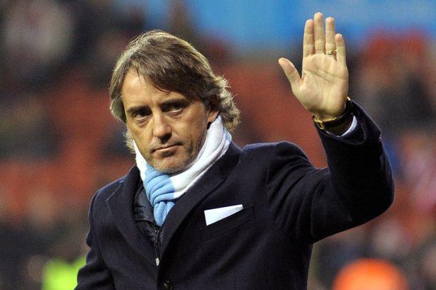Roberto Mancini Manchester City 2013