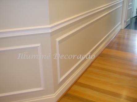 Sua casa de cara nova molduras em poliuretano - Molduras para paredes ...
