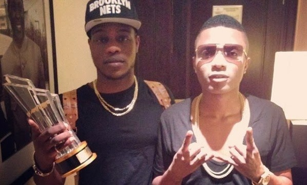 wizkid azonto best video award