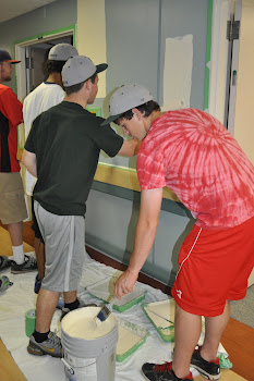 Painting the Veterans Home