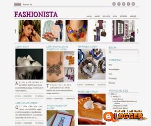 plantilla fashionista blogger
