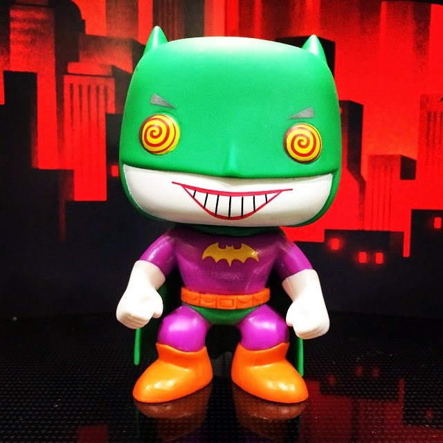 "Loot Crate Exclusive ""BatJoker"" Batman Pop! Heroes Vinyl Figure by Funko"