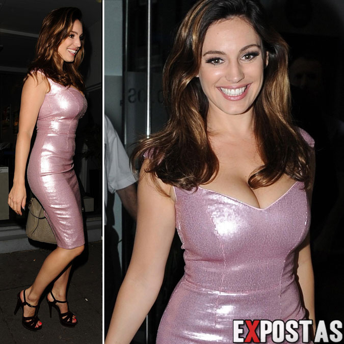 Kelly Brook: West London's Riverside Studios - 29 de Agosto de 2012