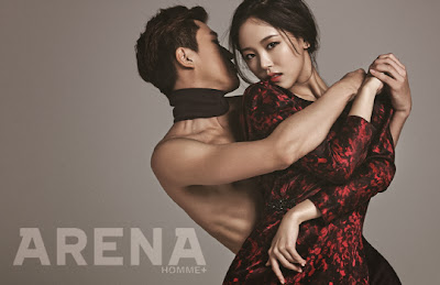 Kang Han Na - Arena Homme Plus Magazine January Issue 2014