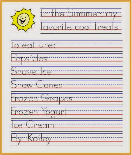 Handwriting Improvement Worksheets