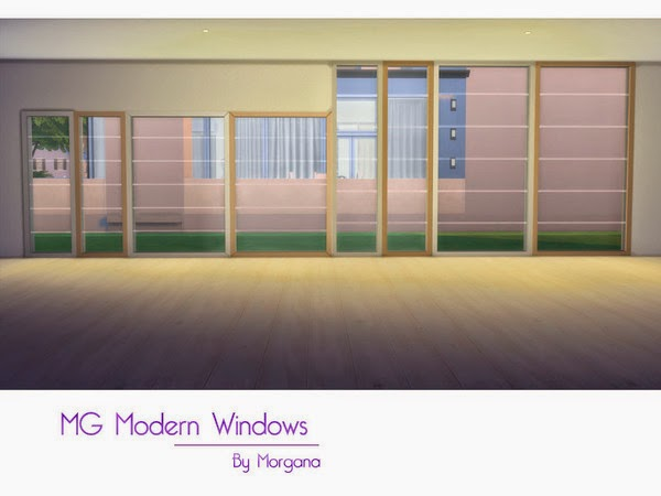 Modern Windows And Doors By Morgana14