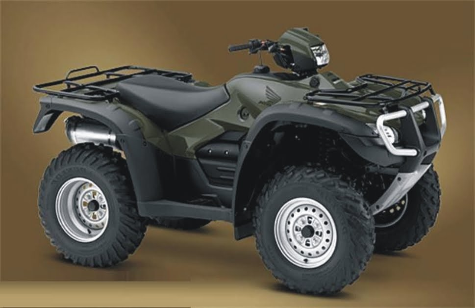 2011 Honda FourTrax Foreman 500 4x4 Specifications and Pictures