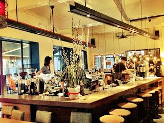 Modern coffee bar of Chye Seng Huat