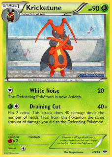 Kricketune Next Destinies Pokemon Card