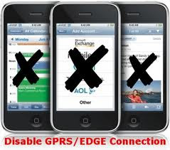 disable GPRS
