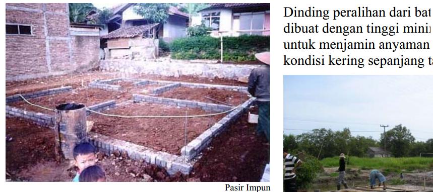 Konstruksi dinding Bambu Plaster, alternatif dinding bata biasa