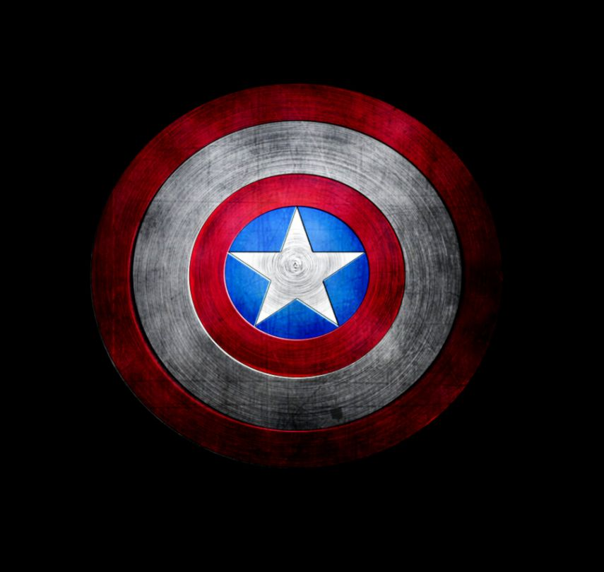 Captain America Logo Wallpaper For Iphone All Hd Wallpapers