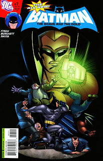 Cover of The All New Batman: The Brave and the Bold #7 from DC Comics
