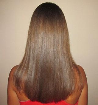 Włosy we wrześniu 2014.