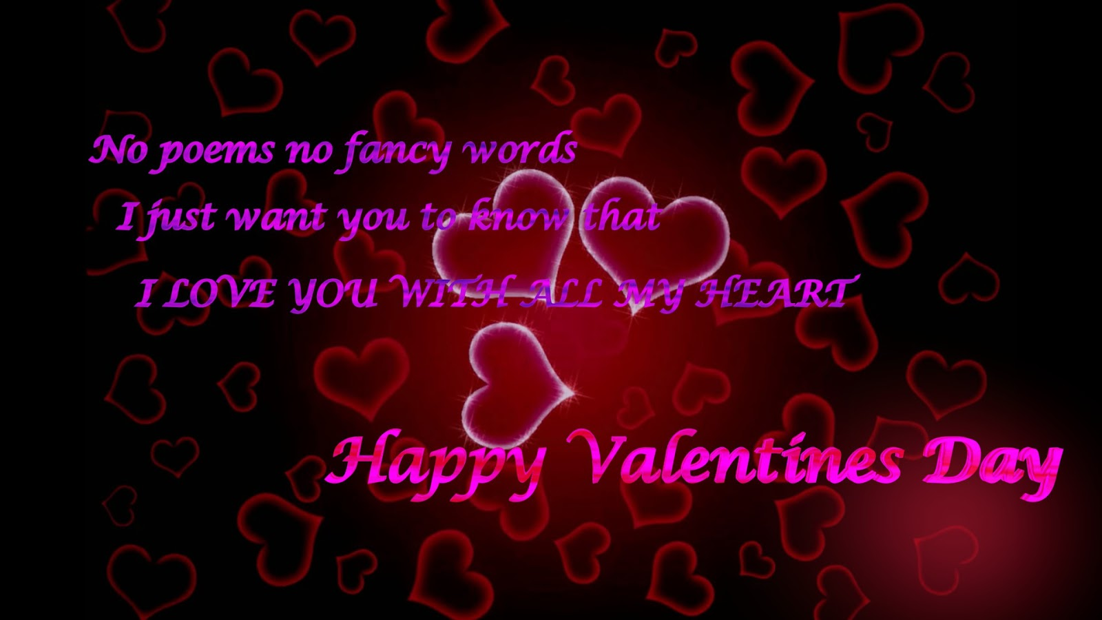 I Love You Quotes Valentines Day : Valentine Day 2017 Wishes Wallpapers and Quotes - Happy Valentine Day ...
