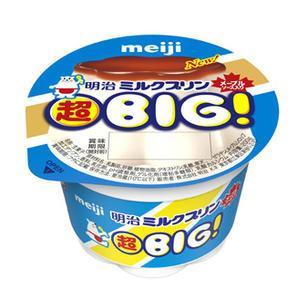 回収された明治ミルクプリン超BIG! 200g