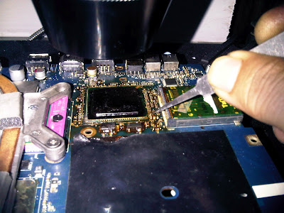 Cara Lepas Chipset yang Aman dengan BGA Rework Station