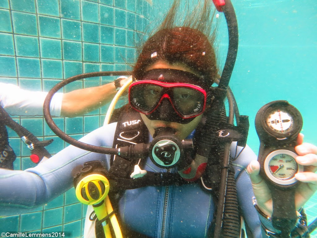PADI IDC Koh Samui October 2014 Air depletion