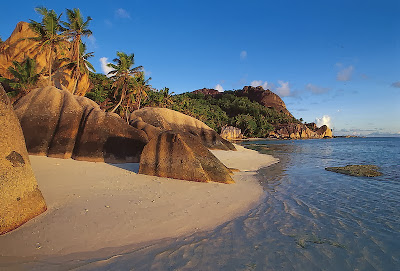 La Digue Beach Island