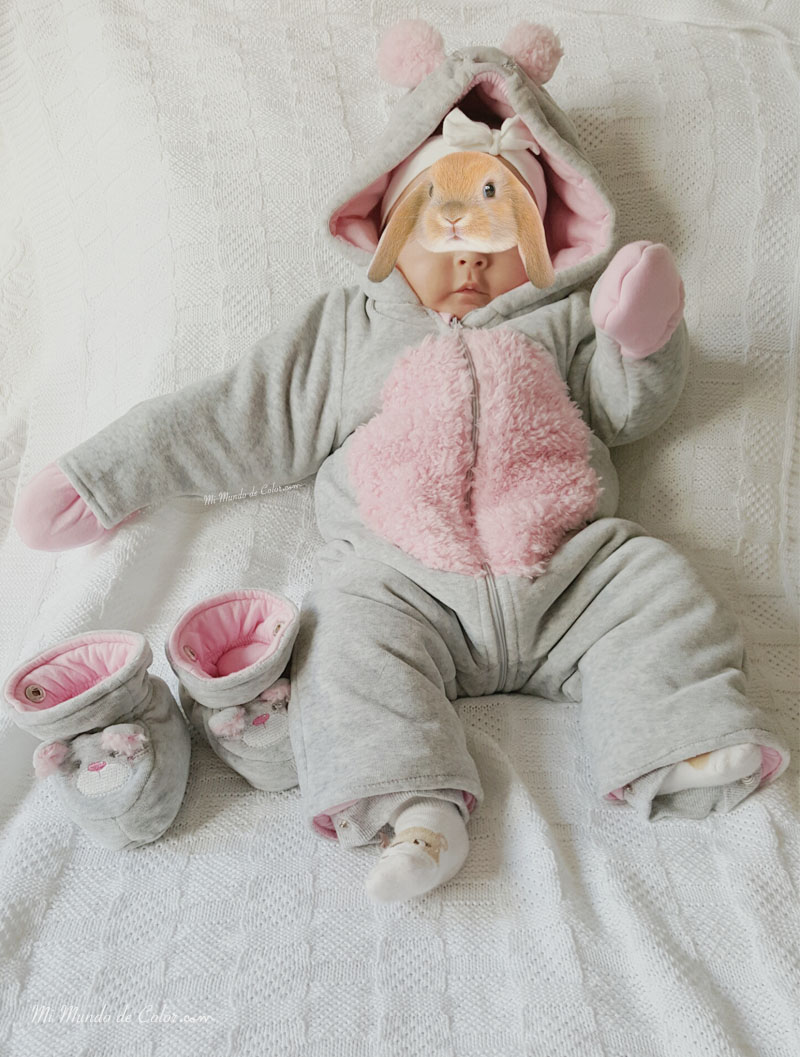 mono de nieve de prenatal